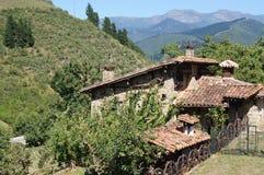 Cottage rustico Fotografia Stock