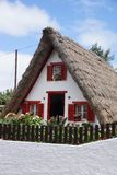 Cottage in Santana (Madeira) Stock Photography