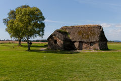 Cottage in Scotland. Cottage at a battlefield  in Scotland Stock Photo