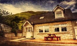 Cottage in Scozia Fotografia Stock