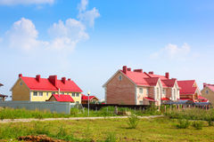 Cottage settlement Royalty Free Stock Photography