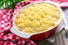 Cottage (shepherd) pie Royalty Free Stock Photos