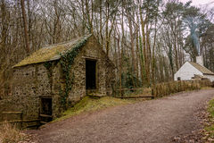 Cottage. Shot at St Fagans National History Museum Stock Images