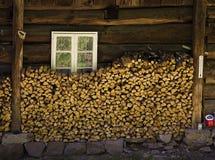 Cottage singolare Fotografie Stock Libere da Diritti