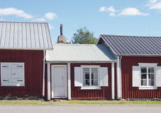 Cottage. Small cottage in Gammelstad, Norrbotten, Sweden Royalty Free Stock Photography