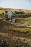 Cottage solo dal mare Fotografia Stock