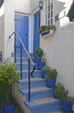 Cottage steps Stock Photos