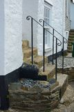 Cottage steps in Saint Ives, Cornwall, England Stock Images