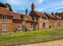 Cottage storici Fotografia Stock Libera da Diritti