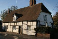 Cottage storico del villaggio Fotografie Stock Libere da Diritti