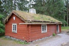 Cottage suédois de soldats images libres de droits