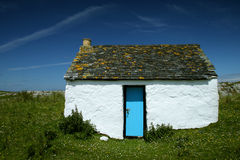 Cottage su colonsay Fotografia Stock