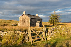 Cottage sur l'amarrage Image libre de droits