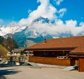 Cottage svizzeri di festa Immagini Stock Libere da Diritti