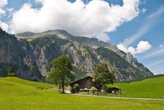Cottage svizzero Immagini Stock Libere da Diritti