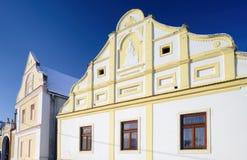 Cottage tchèque traditionnel Image libre de droits