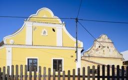 Cottage tchèque traditionnel Images libres de droits