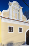 Cottage tchèque traditionnel Image stock