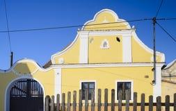 Cottage tchèque traditionnel Photo libre de droits