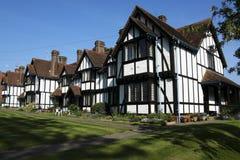 Cottage a terrazze degli ospizi di carità che tring Hertfordshire Immagine Stock