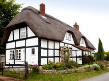 Cottage Thatched Fotografie Stock Libere da Diritti