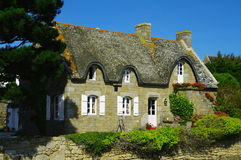 Cottage Thatched Fotografia Stock Libera da Diritti