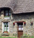 Cottage Thatched Francia Immagini Stock Libere da Diritti