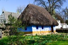 Cottage tradizionale 3 del paese Immagine Stock