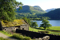Cottage on Ullswater. In the Lake District, UK Royalty Free Stock Photography