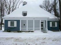 Cottage in una stazione sciistica, Orangeville, Dufferin fotografia stock