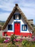 Cottage variopinto Fotografia Stock Libera da Diritti