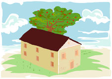 Cottage Vector Royalty Free Stock Image