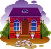 Cottage. Vector illustration Stock Photo