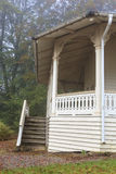 Cottage with a veranda Stock Photography