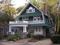 Cottage verde Immagini Stock Libere da Diritti