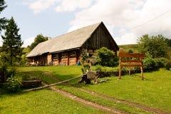 Cottage vieux d'un siècle Photo libre de droits