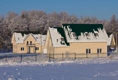 Cottage village Royalty Free Stock Image