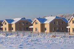 Cottage village Stock Photo