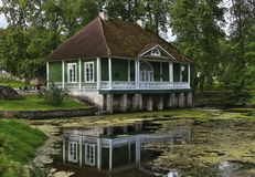 Cottage, Water, House, Reflection Royalty Free Stock Photos