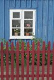 Cottage window Royalty Free Stock Photo