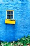 Cottage Window, Kinsale, County Cork Ireland Stock Photography