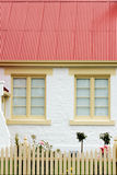 Cottage windows Stock Photography