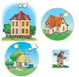 Cottages Royalty Free Stock Photo