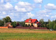 cottages imagem de stock royalty free