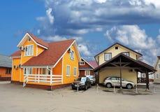 cottages imagem de stock