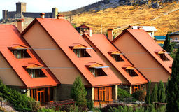 cottages imagens de stock royalty free