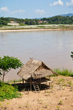 Cottages along the Mekong River Royalty Free Stock Photography