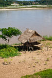 Cottages along the Mekong River Stock Image