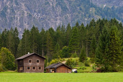 Cottages in Austria Royalty Free Stock Images