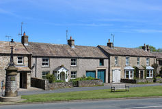 Cottages in Aysgarth North Yorkshire England Royalty Free Stock Photos